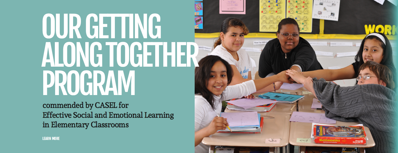 "Success for All's ""Getting Along Together"" Program Commended by CASEL for Effective Social and Emotional Learning in Elementary Classrooms"